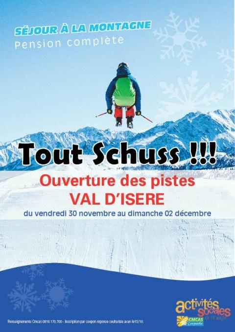 Ouverture des pistes à Val D'Isère