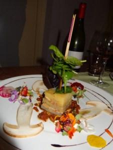 An appetizer at O-Bontemps