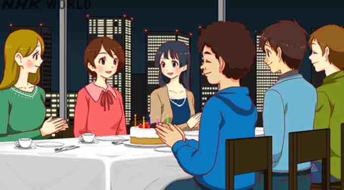 joyeux anniversaire japonais