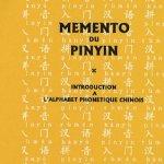 Memento du pinyin
