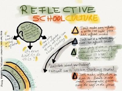 reflective school culture