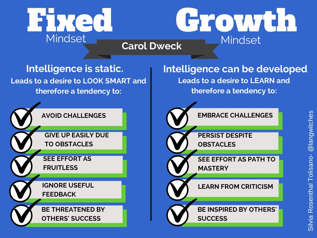 Looking For Learning Through The Lens Of Growth Mindset