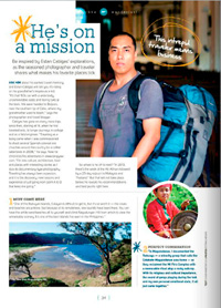 As featured in Smile Magazine. Click to check it out.