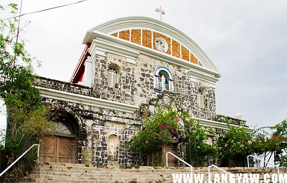 The once fortress-church of Culion was remodelled by the American Jesuits in 1932.