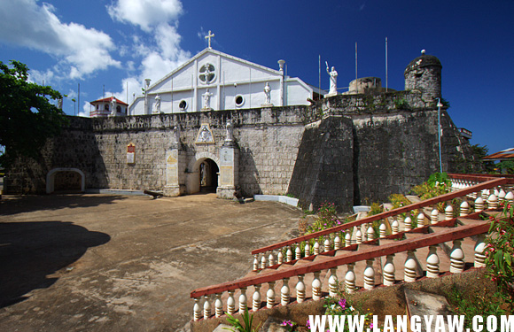The fortress-church of Cuyo , like that of Agutaya, a very unusual and unique structure compared to those found in other areas in the Philippines.