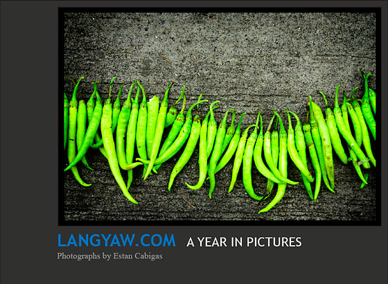 Langyaw.com: A Year in Pictures photo e-book