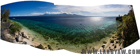 Tanon Strait between the southern tip of Cebu and the southwestern side of Negros. During the height of the Muslim slave raids in the 19th century, this was usually the homeward route taken by the raiders with their captives back to Sulu.