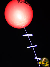 Prayer balloons
