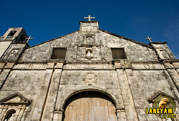 Bantayan Church has lots of surprises inside.