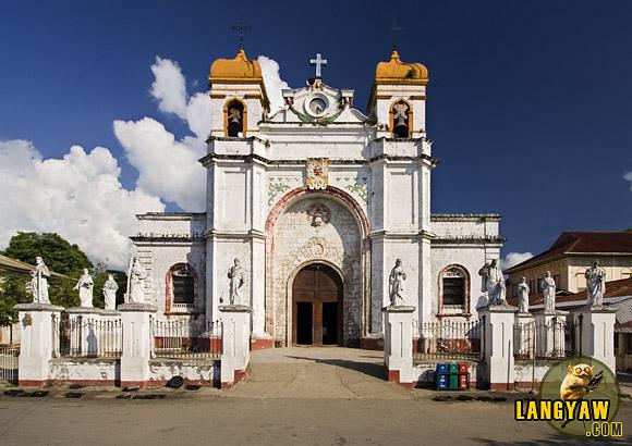 Graeco-Roman façade of Carcar Church