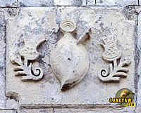 Dumanjug Church facade detail