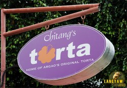 "A must stop in Argao is Chitang's for its delicious ""torta"""