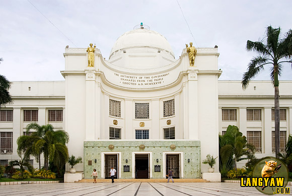 The Cebu Capitol building was built in 1937 and is one of the beautiful landmarks in Cebu City
