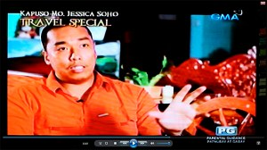 As featured in the TV show, Kapuso Mo, Jessica Soho Travel Special