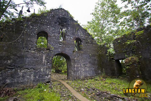 The church ruins of Mataguisi, Pudtol, Apayao