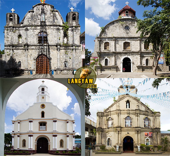 The still existing four old churches of Quezon province's Bondoc Peninsula