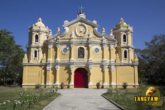 San Vicente Church in San Vicente, Ilocos Sur