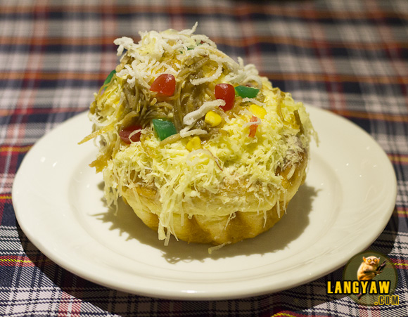 Decked with halo halo ingredients, this fluffy and delicious ensaimada is a steal!