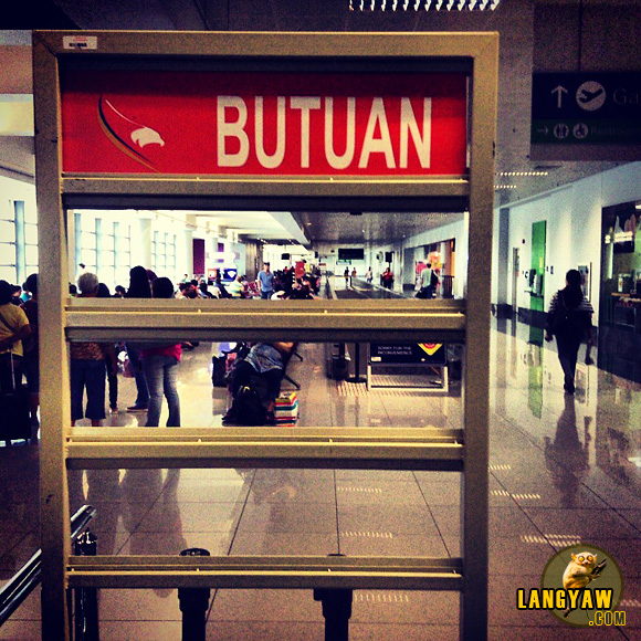 From Manila to Butuan, at Terminal 3 for my flight to Northern Mindanao