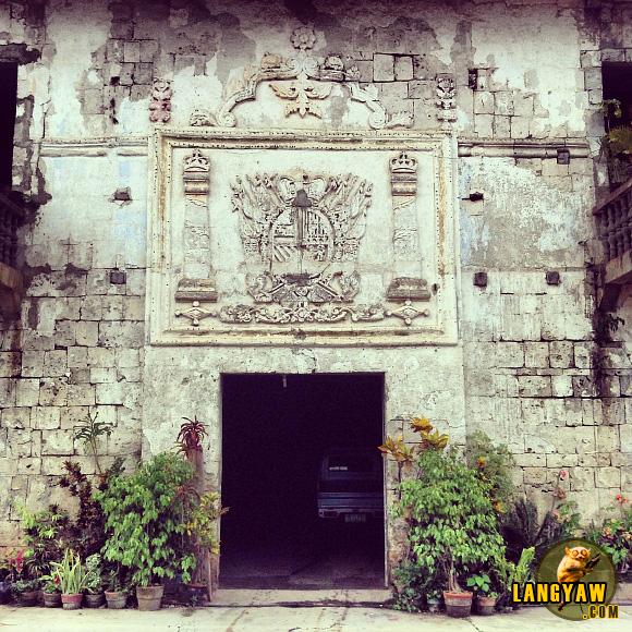 Facade of Siquijor town's kumbento