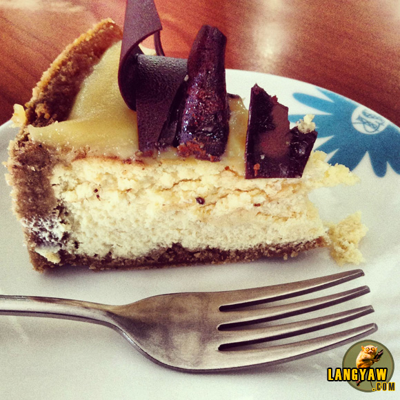 Salted caramel cheesecake. It was an epiphany.