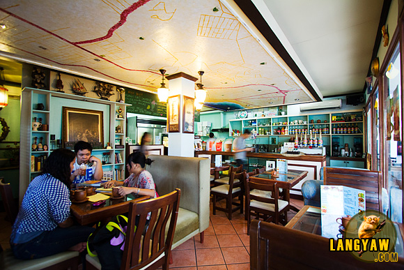 Interior of Tata Benito's Coffee Shop