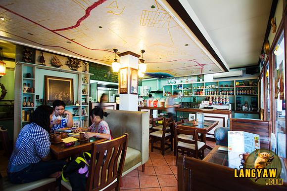 Interior of Tata Benito's Coffee Shop