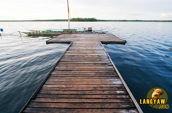 At Camotes's Lake Danao