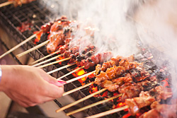 Just one of the more popular barbecues at Larsians