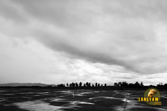 Tarmac of Lumbia airport