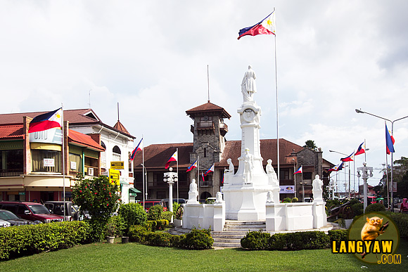 Zamboanga City's Pueblo with the Rizal Park and City Hall