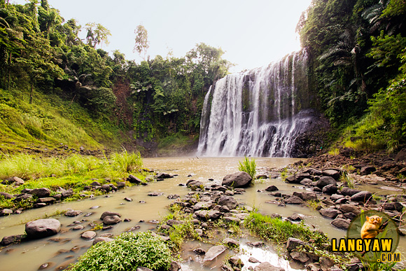 Beautiful Sta. Cruz Falls of Kapatagan, Lanao del Norte