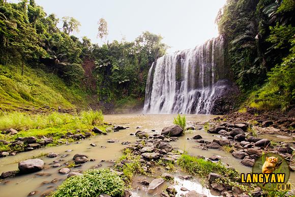 Beautiful Sta. Cruz Falls of Kapatagan, Lanao del Norte