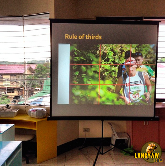 During a Photography workshop in Malaybalay City