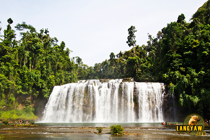 Beautiful and stunning Tinuy-an Falls in Bislig, Surigao del Sur
