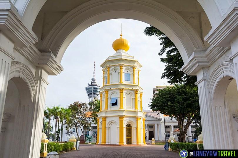 Balai Nobat Alor Setar Architecture