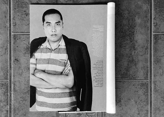 Ang Langyaw featured as a traveler and a photographer in Playboy (Philippines) October 2013 issue