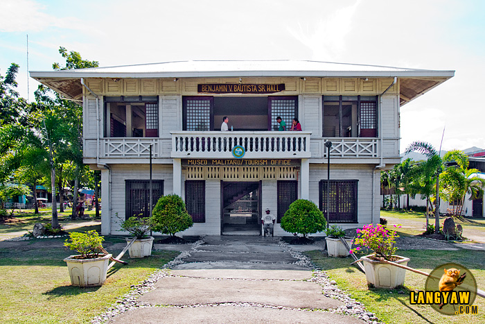 Museo Malitano in Malita, Davao Occidental. The province is the newest in the country.