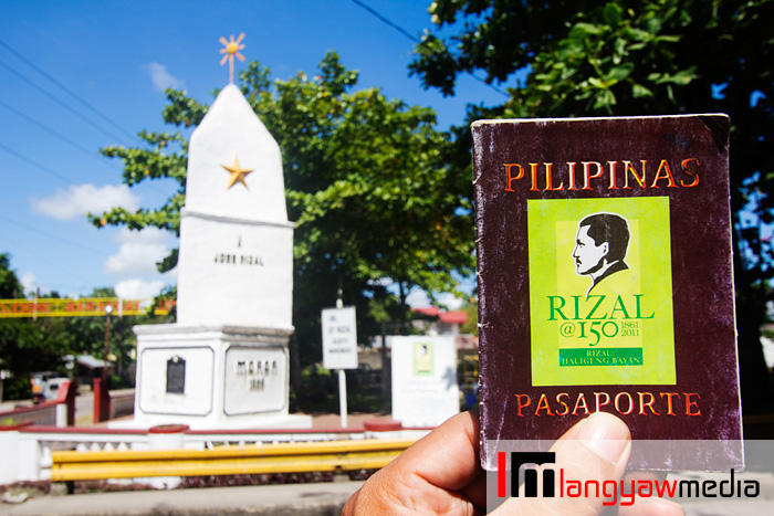 The Rizal monument as part of the Rizal Heritage trail