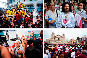 Photo Essay: Nuestro Padre Jesus Nazareno translacion. CLICK the slideshow for more images.