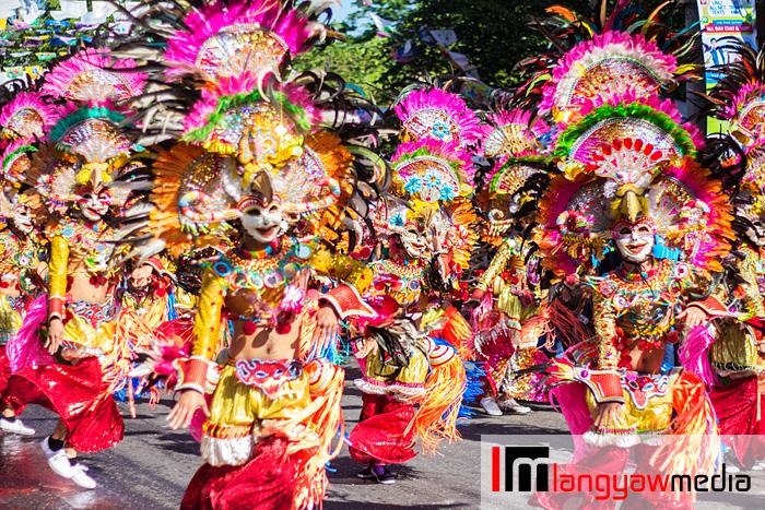 Masskara dancers (Bacolod City, Negros Occidental)