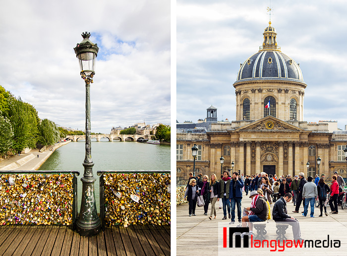 Padlocks at Pont des Arts