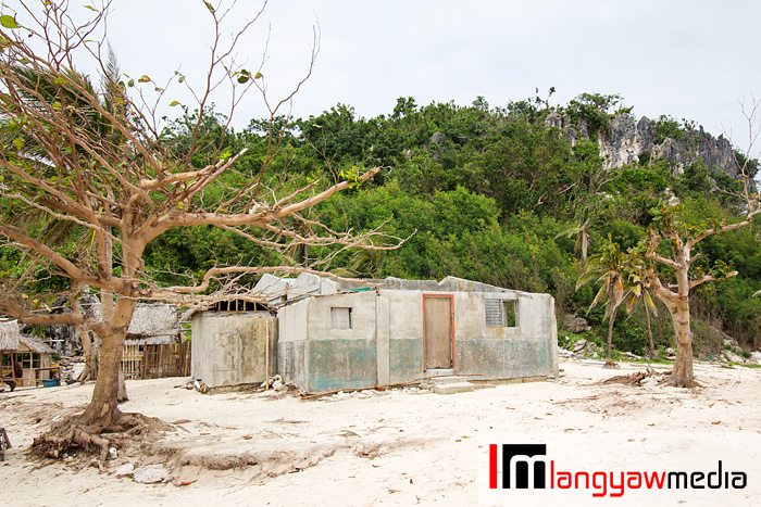 The damage wrought by Supertyphoon Yolanda (Haiyan) making its mark in the islands