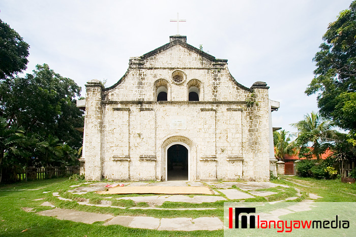 Navalas Church is the only Spanish era built church in Guimaras island-province