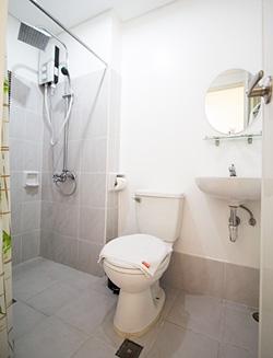 Toilet of room
