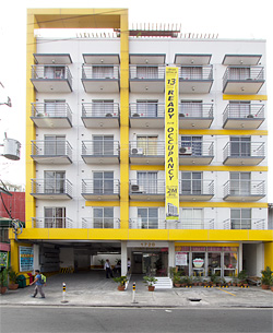Facade of Dian Suites