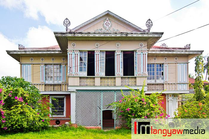The Montinola Mansion in Jaro District, Iloilo City