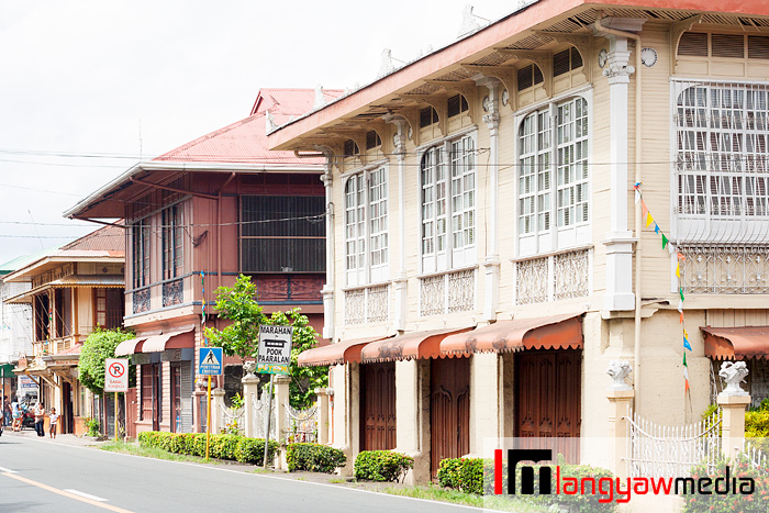 The town center of Pila in Laguna has plenty of heritage houses and other structures
