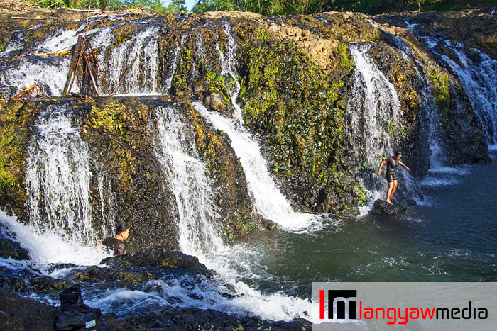 Beautiful Malinamon Falls, just discovered two years ago in Jamindan, Capiz inside a military reservation and camp
