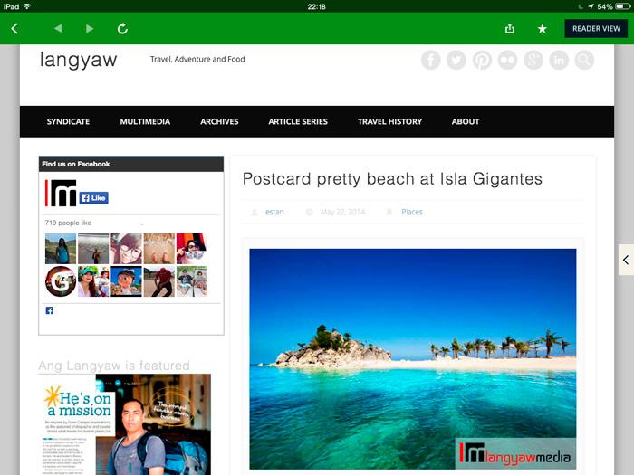Langyaw.com in Newsloop